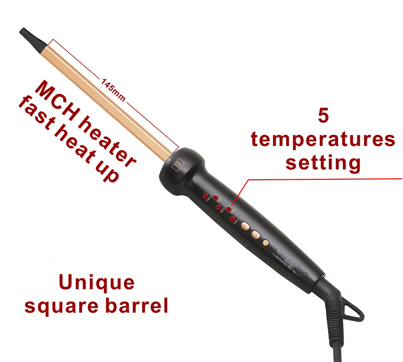 i-2610S Square hair curler