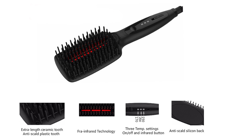 i-100R Infra. heating brush